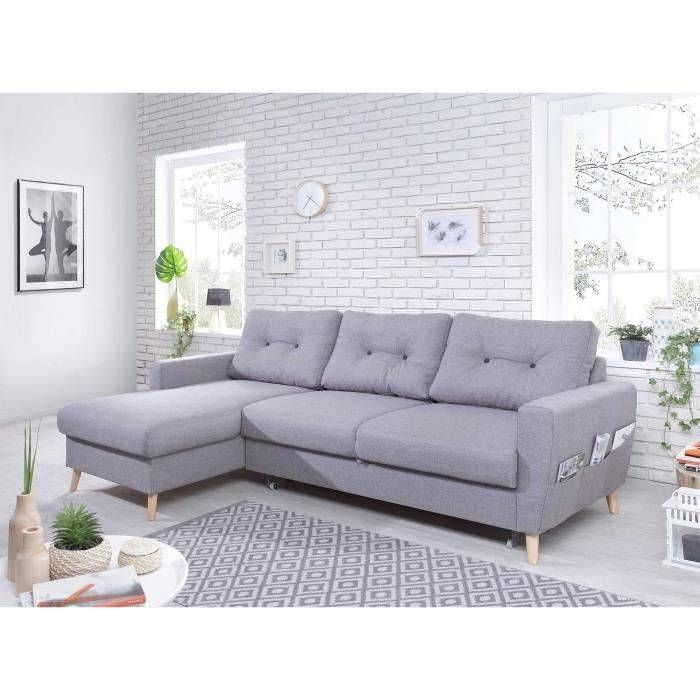 Canape Scandinave Convertible Pas Cher Canape Scandinave Convertible Achat Vente Canape In 2020 Leather Sectional Sofas Contemporary Sofa Furniture