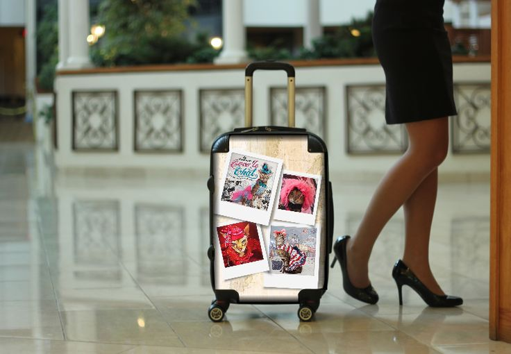 Customize your very own carry-on suitcase! Whether its pictures from your favorite family vacation or your company logo for corporate gifts or a photo of a favorite pet or loved one, the MyFlyBag guarantees you'll travel in style and have memories that will last a lifetime!