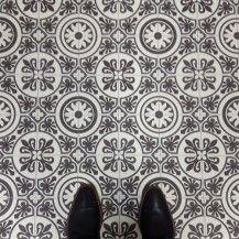 patterned cushion sheet vinyl flooring moroccan design tangier 03