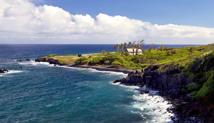 HuiAloha Church, Road to Hana, Kaupo, Maui Hawaii, Fine Art Photograph