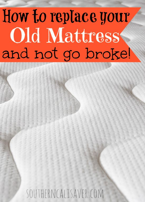 scroll down for to see how you can pay less than $400 for a Memory foam (queen) mattress! When George and I first got married we inherited my family's old guest bedroom mattress– We were so young and limber that we didn't need a brand new mattress and slept great on the hand me …