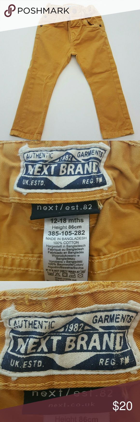 Next UK kids pants 12-18 months My favorite kids clothing brand. Excellent condition only worn a few times. Smoke free home! next UK Bottoms