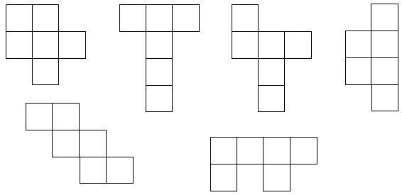 Les solides : les patrons CM2