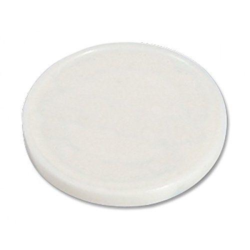 Lot de 500 jetons de caddie blanc sans impression (vierge) possibilité d'utiliser en jeton buvette ou jeton casier de piscine: Lanyard tour…