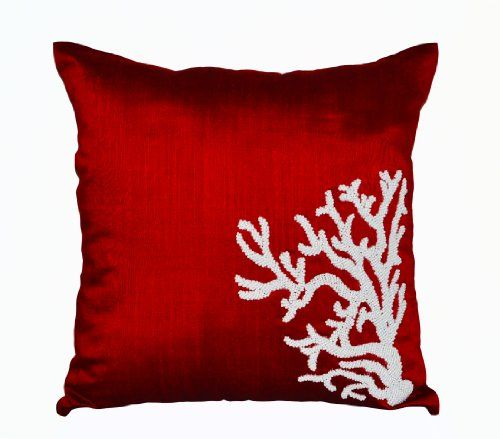 Amore Beaute Handmade Red Decorative Throw Pillow Covers ... http://www.amazon.com/dp/B00DWOYDNG/ref=cm_sw_r_pi_dp_sNUoxb1BNF88V