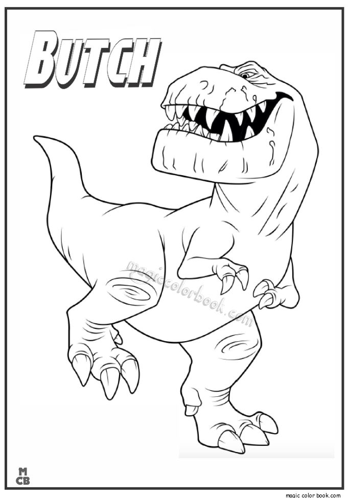 28 besten The Good dinosaur Coloring pages Bilder auf Pinterest ...