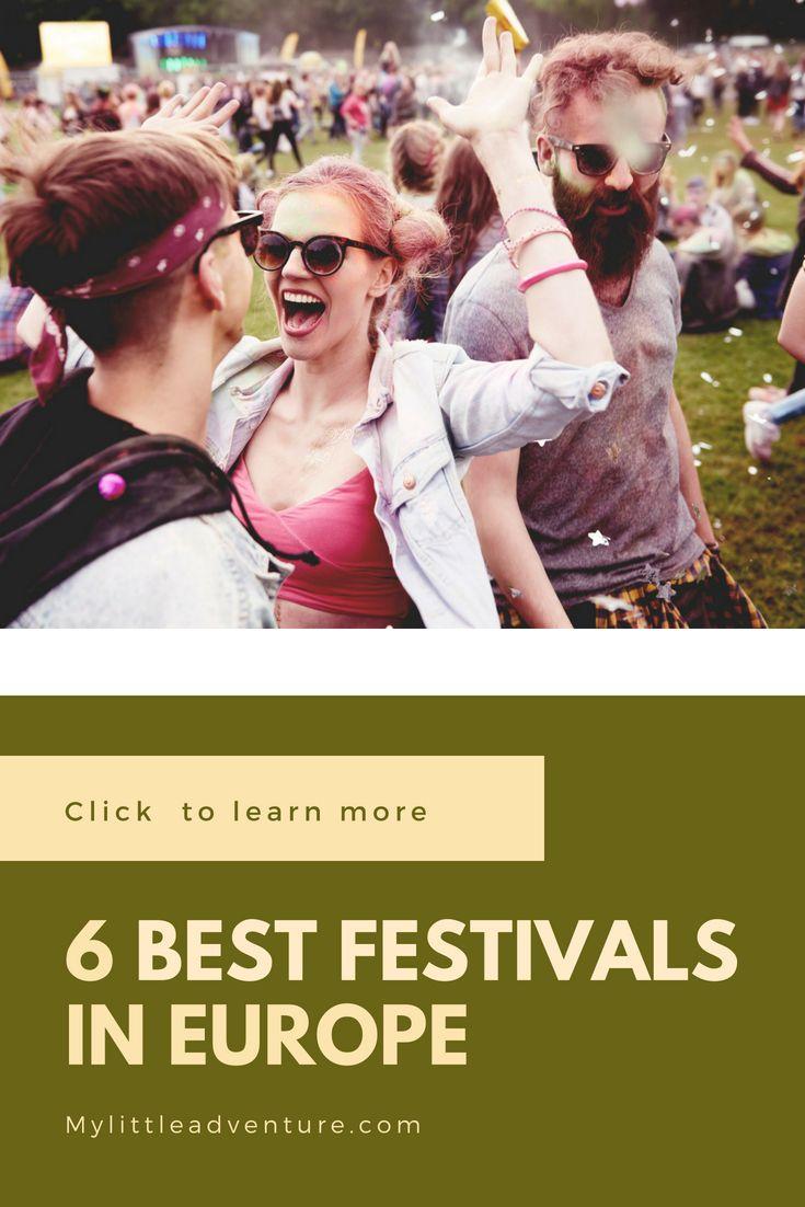 Best 6 European festivals in August | European Music