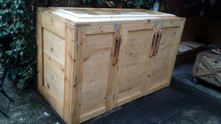 waste container cabinet