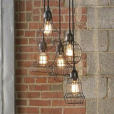 The North American Country Style Tieyi Chandelier - USD $ 219.99