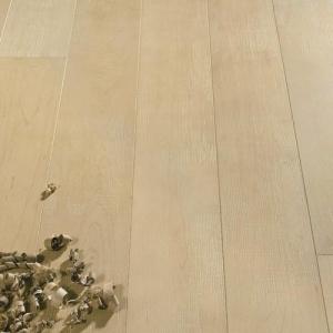 DESIGN - Ochre Hard Maple Planks. Listoni di Acero lavorato a tessuto. #cadorin engineered wood flooring