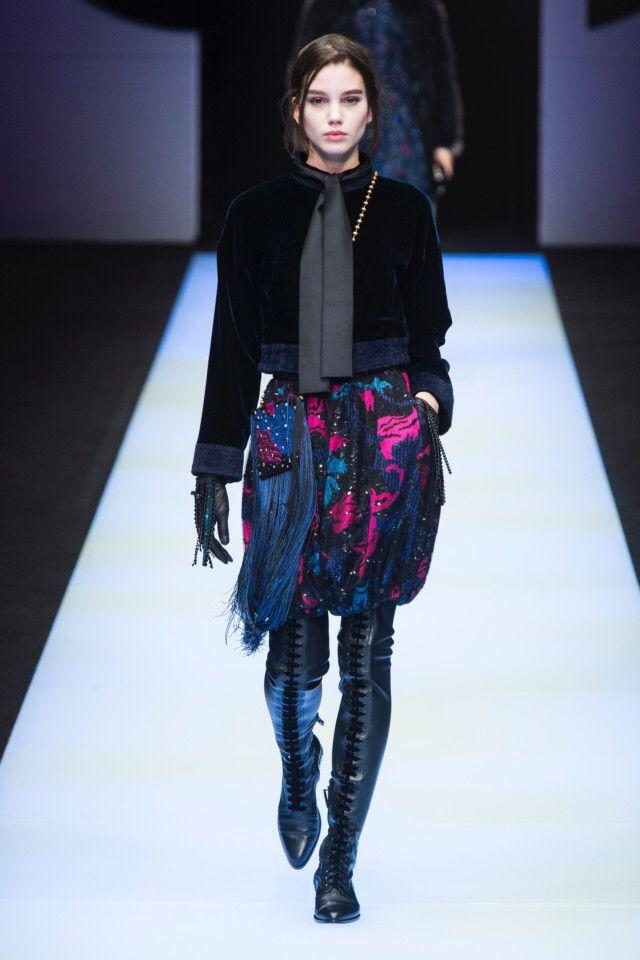 Giorgio Armani  #VogueRussia #readytowear #rtw #fallwinter2018 #GiorgioArmani #VogueCollections