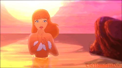 Cinderella as a mermaid