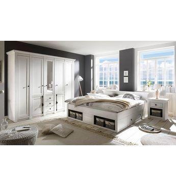 Awesome Hiome affaire Schlafzimmer Set California gro Bett cm Nachttische trg Kleiderschrank Jetzt bestellen unter