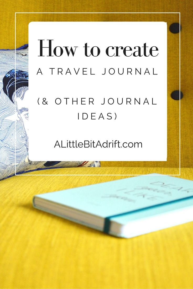 How to create a travel journal journal create and bullet journals how to create a travel journal solutioingenieria Images