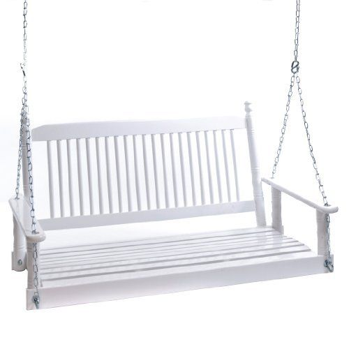4 39 White Porch Swing From Cracker Barrel Sleeping Porches And Porch Swings Pinterest