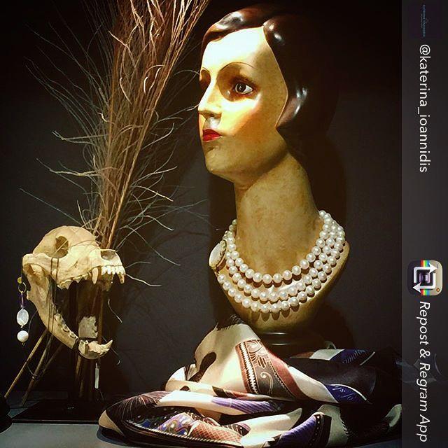 """""""Tsarouhia"""" silk scarf by Grecian Chic!"""