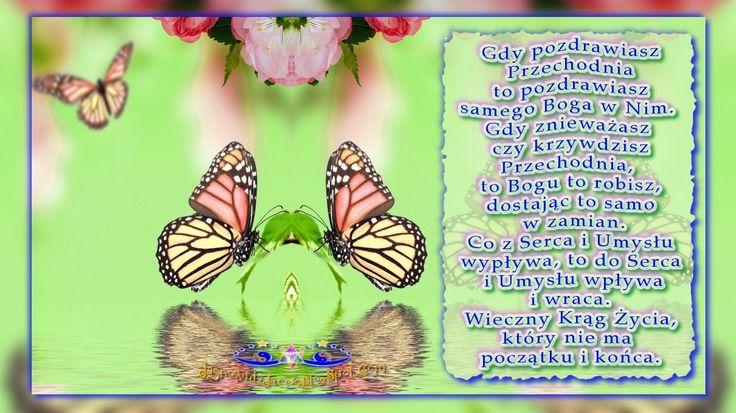 Pozdrawiasz Przechodnia pozdrawiasz Boga w Nim www.JasnowidzJacek.blogspot.com