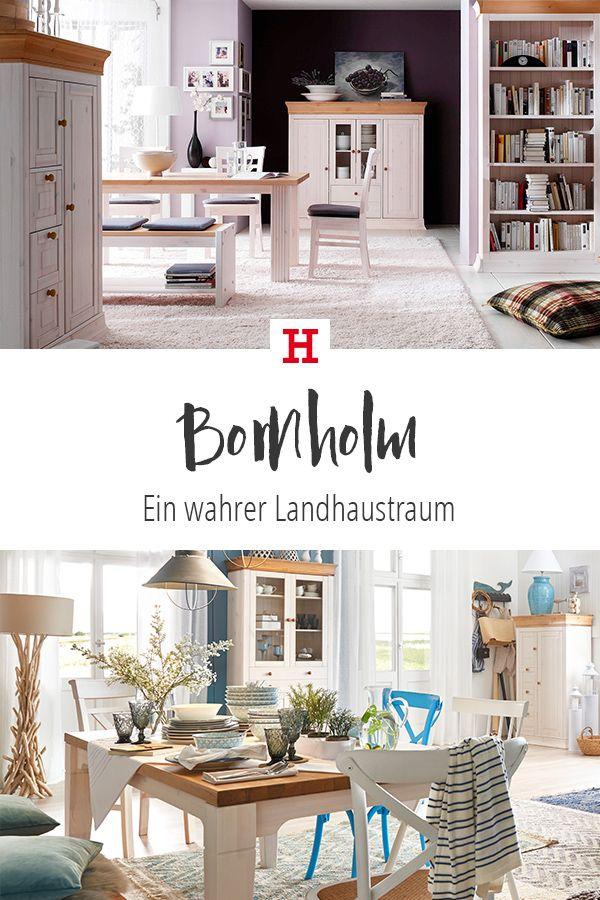 Bornholm Ist Ein Wahrer Landhaustraum Alle Mobel Sind Aus Hochw Landhausstil Wohnzimmer Einrichtungsideen Wohnzimmer Landhaus Einrichten Und Wohnen Wohnzimmer