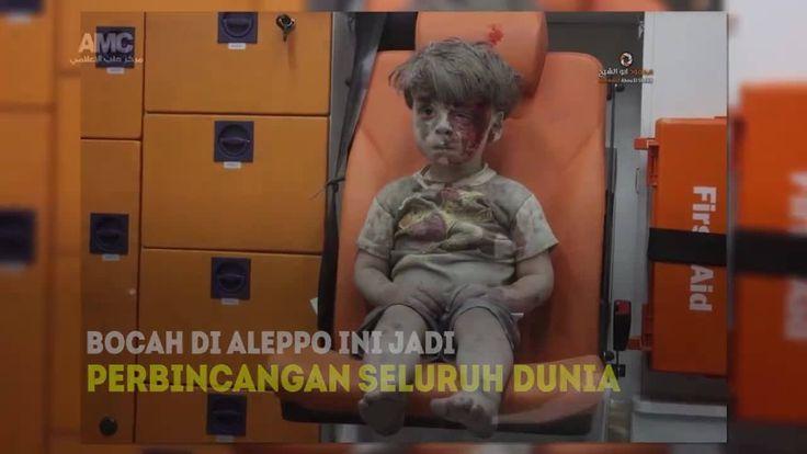 Ekspresi wajah bocah bernama Omran yang jadi korban peperangan di Kota Aleppo sungguh menyayat hati.... Dunia tertuju padanya, meski wajah penuh debu dan darah ia tidak menangis atau mengeluarkan suara sedikitpun.