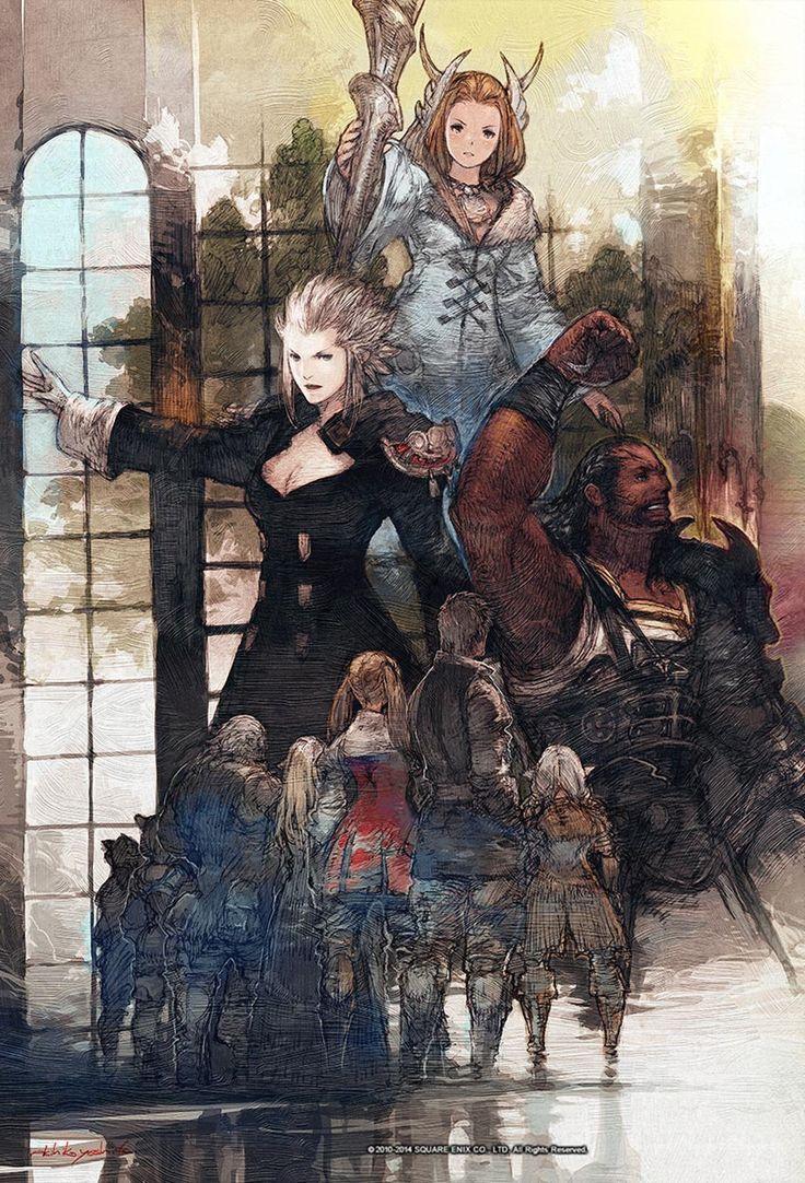 Leaders Illustration | Final Fantasy XIV: A Realm Reborn