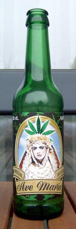 Cerveja Ave Maria Special Beer - Cervejaria Brauerei Nemo Namenlos. This looks like marijuana but I'm not sure PD