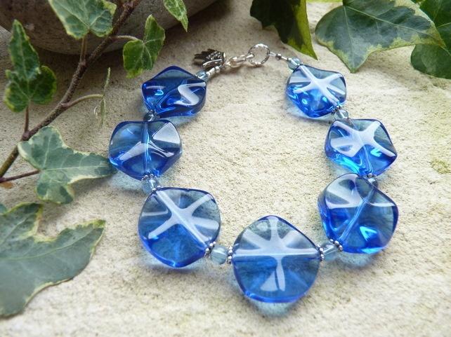 Blue Bracelet - Folksy