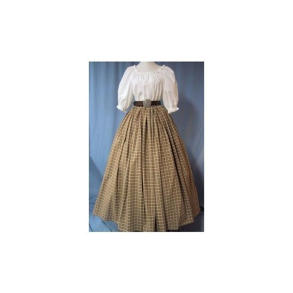 Civil War Ball Gowns Belle-Styled Dresses ❤ liked on Polyvore featuring dresses, gowns, evening ball gowns, brown dresses, ball dresses, brown evening dress and brown gown