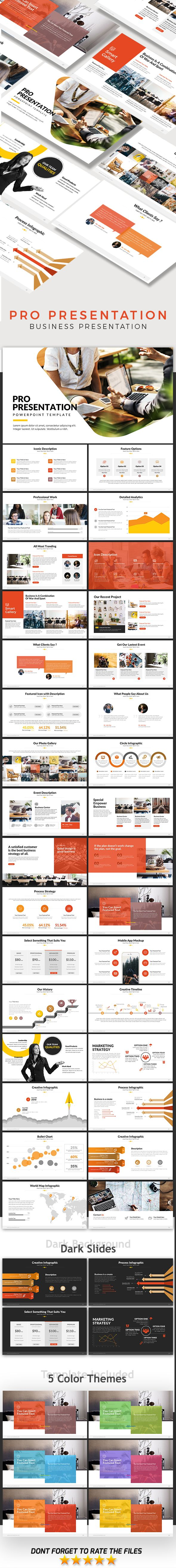 Pro Presentation - Powerpoint Template
