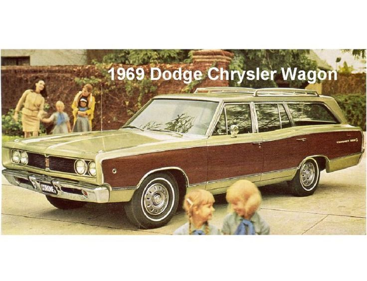 1969 Dodge Chrysler Wagon  Refrigerator / Tool Box Magnet #Magnets