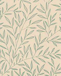 Tapet Lily Leaf Eggshell från William Morris & Co