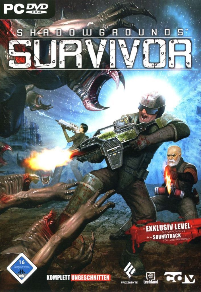 Shadowgrounds Survivor Pc Video Games Free Download With Images