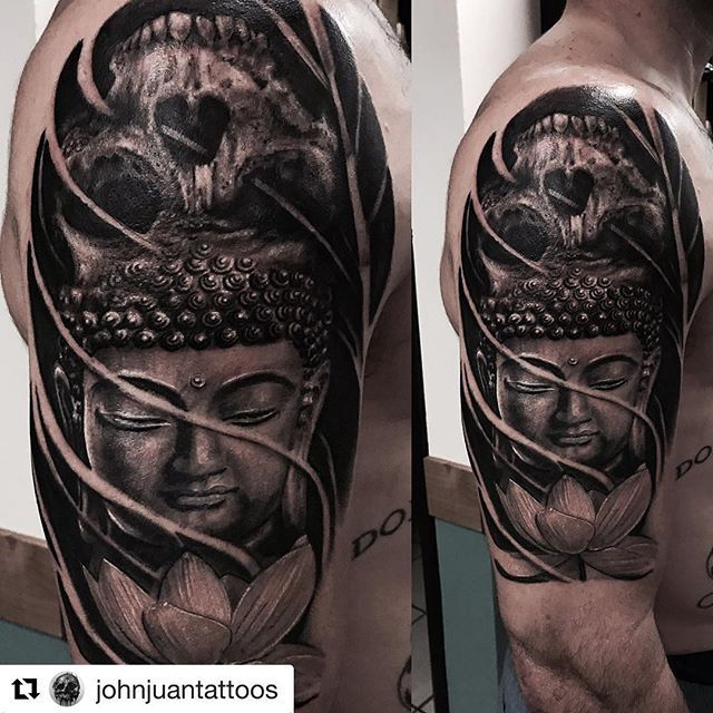 This is too sick @johnjuantattoos! #LosAngelesTattooConvention at the Long Beach Convention Center on August 18-19! #LATC #LATattooCon #Repost @johnjuantattoos with @repostapp ・・・ Finished until our next appointment. #tattoo#sandiegotattooartist#blackandgreytattoo#buddha#skull#life#death#armtattoo#guyswithtattoos#girlswithtattoos#bnginksociety#inked#lajolla#pacificbeach#sandiego#oceanbeach#oceanside#sdsu#usd#pointloma#sd#california #lajollalocals #sandiegoconnection #sdlocals - posted by LA…