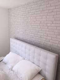 There is something about white brick wall ideas that I really like. No matter what kind of space it is, I like to see a brick wall no matter how small that area is