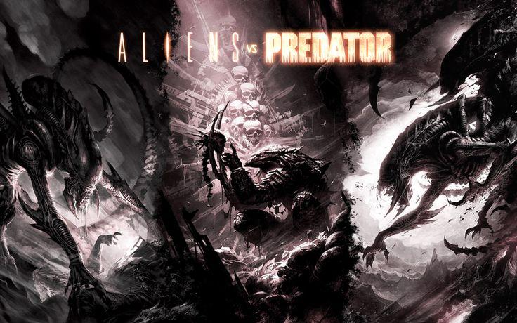 Alien vs. Predator by FrancoFerrari.deviantart.com