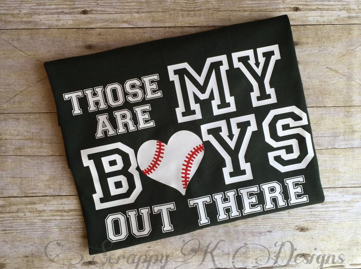 Those are My Boys Out There Baseball Mom Baseball Dad t-shirt Baseball Mom Tee Baseball Dad Tee Baseball Tshirts Custom Baseball Tee - pinned by pin4etsy.com