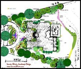 TampaLandscapeDesign.com color coded landscape plan ...