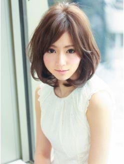アフロートジャパン(AFLOAT JAPAN)大人可愛い柔らかボリューム丸みパーマスタイル