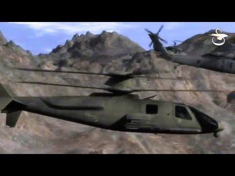 Sikorsky - S-97 Raider Light Tactical Helicopter Special Operations Comb...