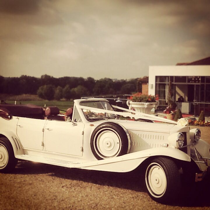 Classically beautiful from I Do Wedding Cars