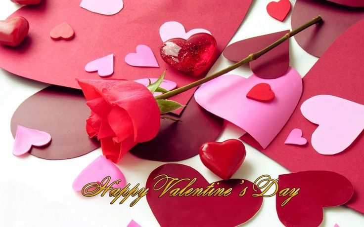 Happy Valentines Day Flowers Images
