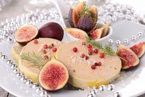 recette de Noël de foie gras