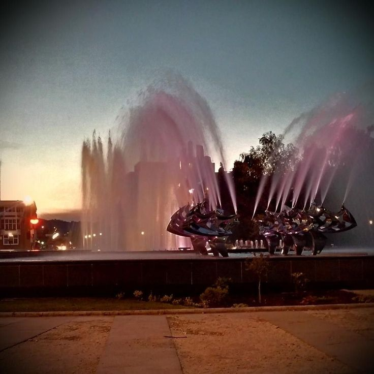 Resita's Center Fountain.