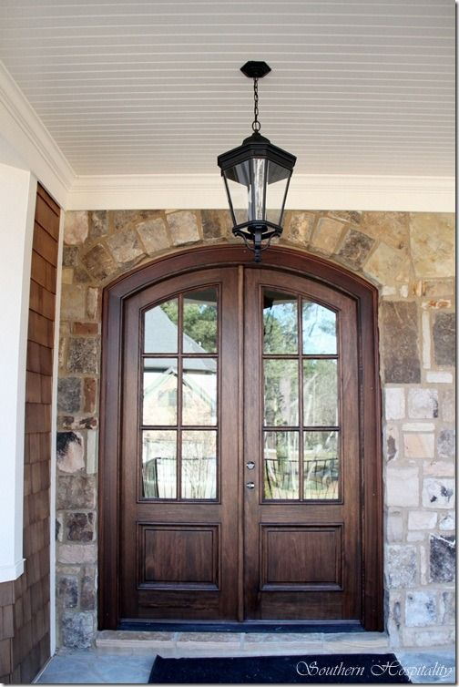 Feature Friday  Update on the Atlanta House Rebuilt  Arched Front DoorDouble. 14 best Front Door images on Pinterest   Iron doors  Iron front
