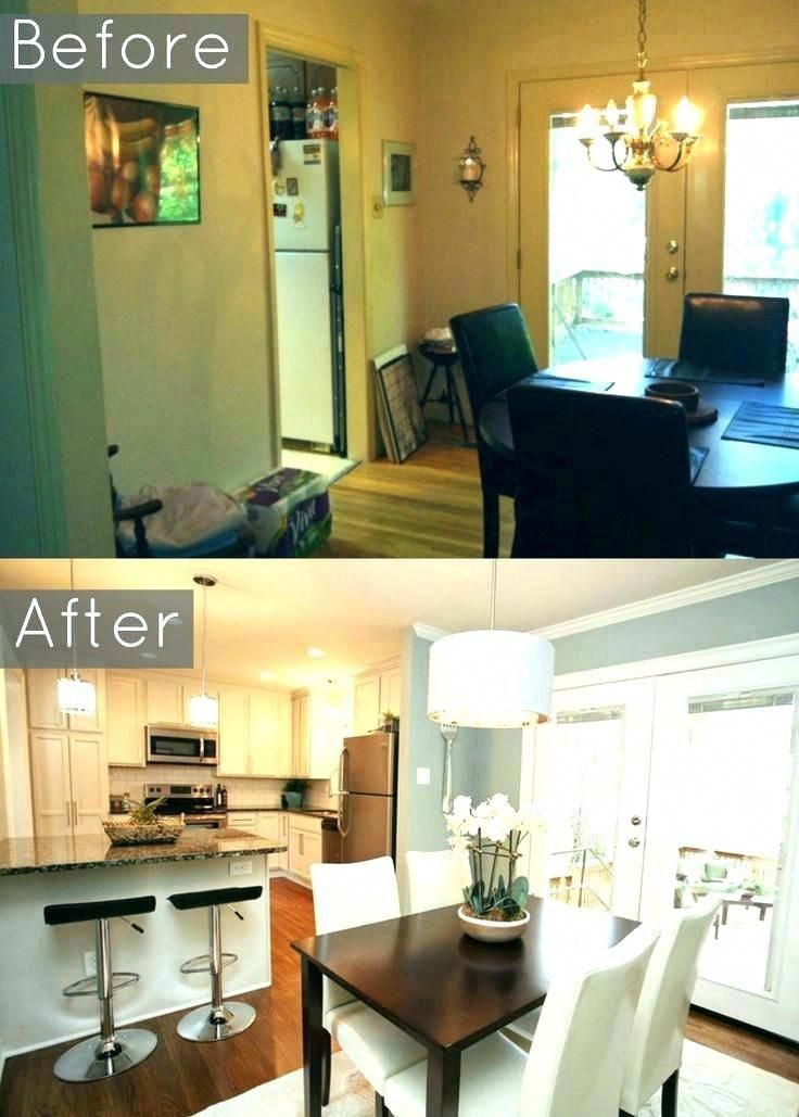 Kitchen Dining Room Combinations Small Living And Combo Com Layout