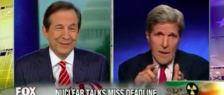 Kerry Angrily Spars With Fox's Chris Wallace: 'You Like To Ask Questions, But You Don't Like To Get Answers!' 10:08 AM 07/20/2014...