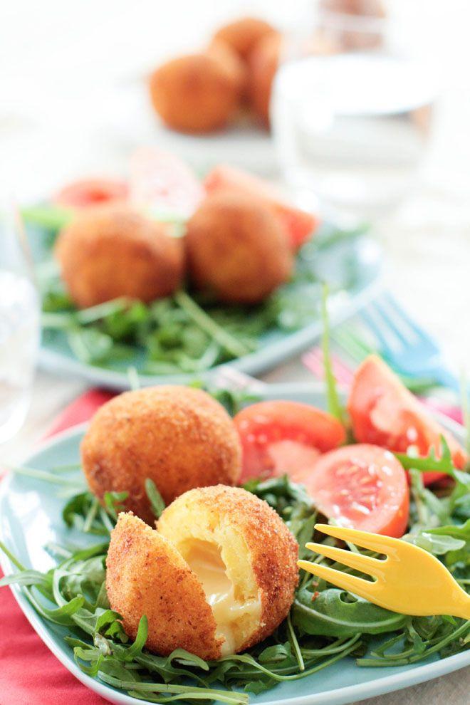 """Un """"Flo"""" de bonnes choses » Cromesquis de pommes de terre au Munster fermier – Concours Carrefour Origine & Qualité"""