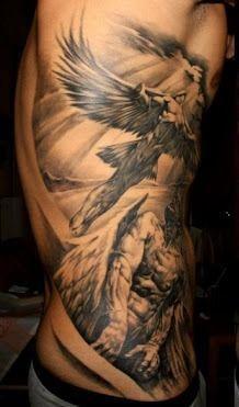 Christian Rib Tattoos For Guys . url: amtattoo-designs…. Get #Tattoos #TattooIdeas #MenTattoos