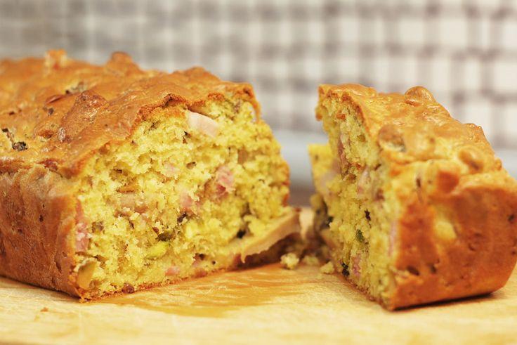 Bröd med skinka, svamp och pistagenötter #Recept