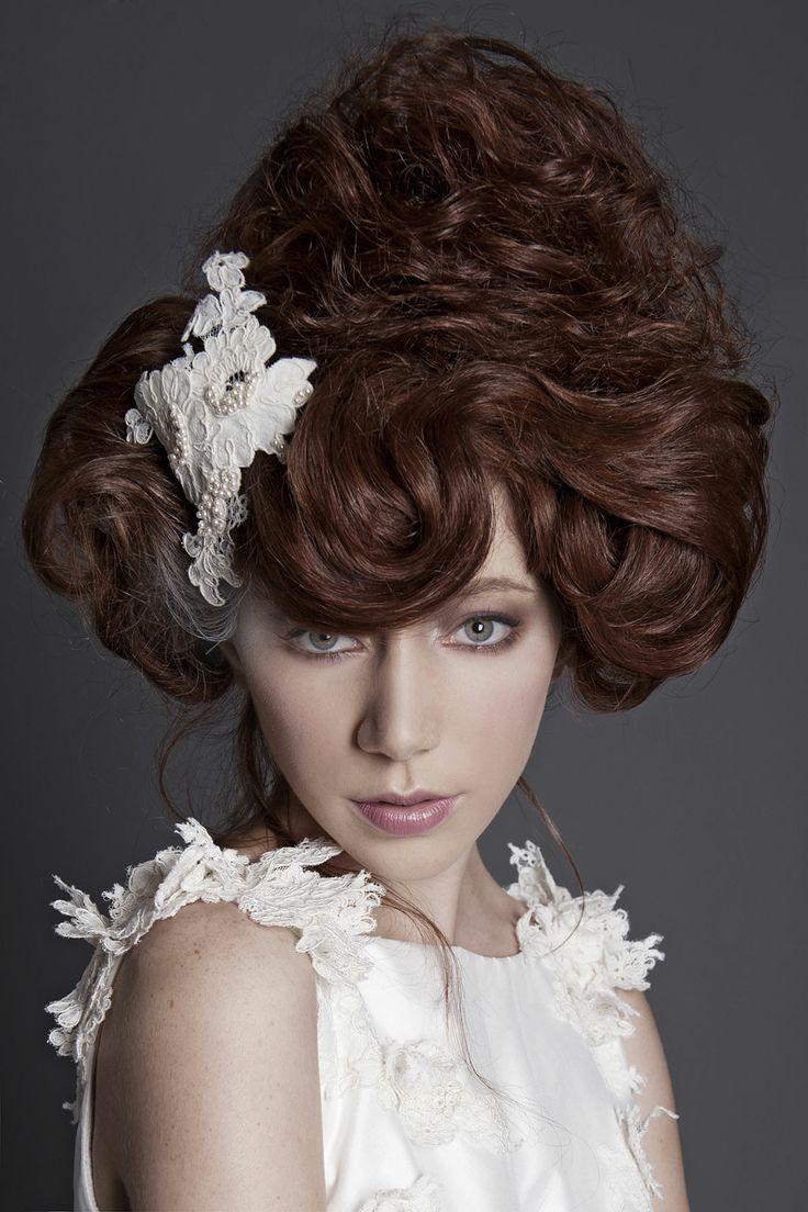 Hair: Nadine Johns-Alcock, Rokstar Photo: Red Eclipse Styling: Kymberly Louise Make-up: Carla Sakrzewski #WeddingHair