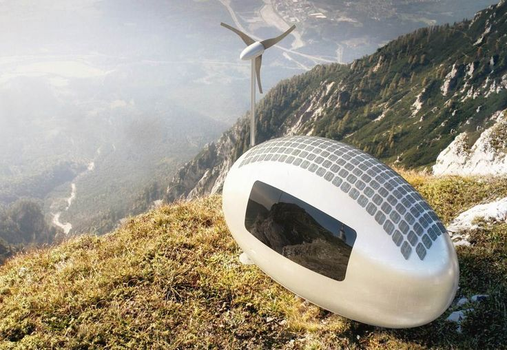 Live Off the Grid in This Solar-Powered 'Ecocapsule' Pod - NBC News